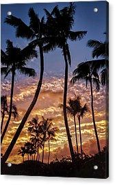 Kalapki Sunset Acrylic Print