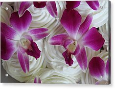 Kaleido Cakes Acrylic Print