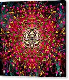 Kaleidoflower#7 Acrylic Print