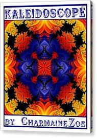 Kaleidoscope 1 Acrylic Print by Charmaine Zoe