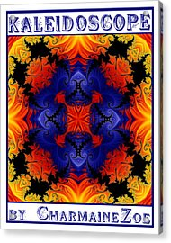 Acrylic Print featuring the digital art Kaleidoscope 1 by Charmaine Zoe