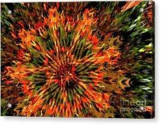 Kaleidoscope 1 Acrylic Print by Jean Bernard Roussilhe