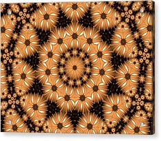 Acrylic Print featuring the digital art Kaleidoscope 131 by Ron Bissett
