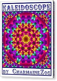 Acrylic Print featuring the digital art Kaleidoscope 3 by Charmaine Zoe