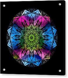 Kaleidoscope - Colorful Acrylic Print