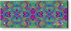 Kaleidoscope Heart Acrylic Print