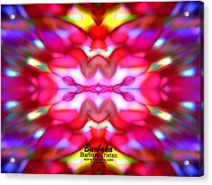 Acrylic Print featuring the photograph Kaleidoscope Wonder by Barbara Tristan