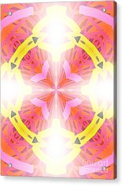Kaleidoscope Lights Acrylic Print by Roxy Riou