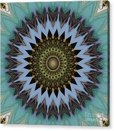 Kaleidoscope O Eleven Acrylic Print