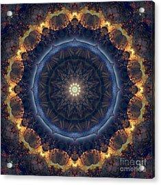 Kaleidoscope Zero Fifty Nine Acrylic Print
