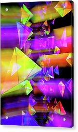 Kaleidoscopic Mind Acrylic Print by Az Jackson