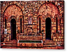 Kalemegdan Fortress Church Saint Petka Acrylic Print by Milan Karadzic