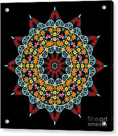 Acrylic Print featuring the digital art Kali Kato - 12 by Aimelle