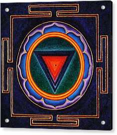 Kali Yantra Acrylic Print