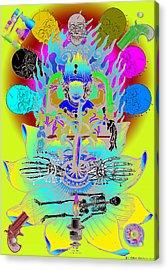 Kali Yuga Acrylic Print
