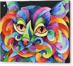 Kalidocat Acrylic Print by Sherry Shipley