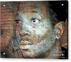 Kalief Browder - A Young Martyr Acrylic Print