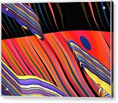 kali.fa-Papillon - Callg. 10z11m9 Acrylic Print by Terry Anderson