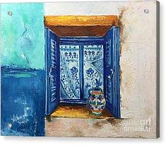 Kalimera Greece Acrylic Print