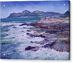 Kalk Bay And Fish Hoek  Cape Town South Africa 2006  Acrylic Print by Enver Larney