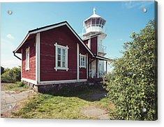 Acrylic Print featuring the photograph Kallo Lighthouse by Ari Salmela