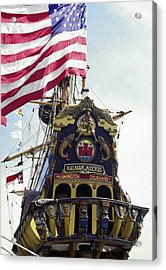 Kalmar Nyckel Tall Ship Acrylic Print