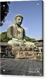 Kamakura Buddha Acrylic Print by Andy Smy