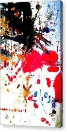 Kamor Abstract Acrylic Print by Amy Sorrell