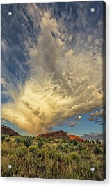 Kanab Clouds Acrylic Print