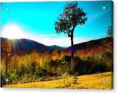 Kancamagus Sunset Acrylic Print