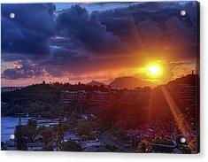 Kaneohe Sunrise Acrylic Print