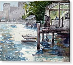 Kangaroo Point Acrylic Print