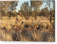 Kangaroo Sanctuary Acrylic Print
