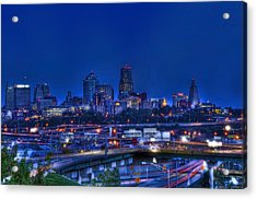 Kansas City Fantasy Acrylic Print