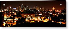 Kansas City Lights Acrylic Print