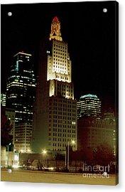 Kansas City Night Acrylic Print