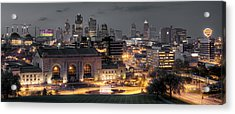 Kansas City Skyline Acrylic Print