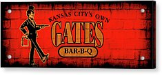 Kansas City's Own Gates Bar-b-q Acrylic Print