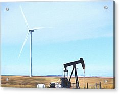 Acrylic Print featuring the digital art Kansas Energies  by JC Findley