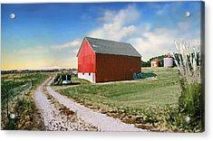 Kansas Landscape II Acrylic Print by Steve Karol