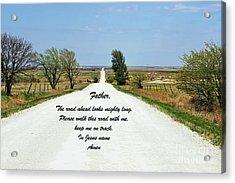Kansas Road Acrylic Print