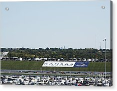 Kansas Speedway Acrylic Print by Yumi Johnson