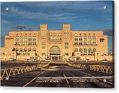 Kansas State Stadium Acrylic Print by JC Findley