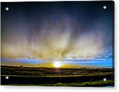 Acrylic Print featuring the photograph Kansas Storm Chase Bust Day 005 by NebraskaSC