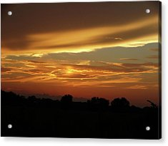Kansas Summer Sunset Acrylic Print