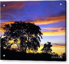 Kansas Sunset1 Acrylic Print