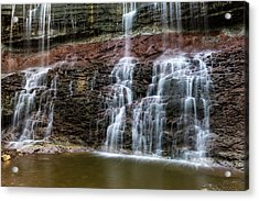 Kansas Waterfall 3 Acrylic Print
