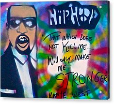 Kanye West Stronger Acrylic Print by Tony B Conscious
