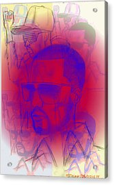 Kanye West Swag  Acrylic Print by HPrince De Artist