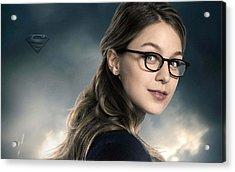Kara Danvers Supergirl Acrylic Print